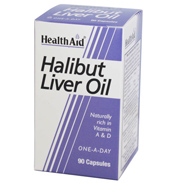 Health Aid Super Halibut Liver Oil 90 capsules