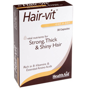 HealthAid HairVit 90 Capsules (1 PACK)