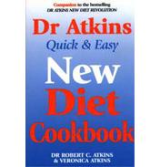 Dr Atkins Quick & Easy New Diet CookBook