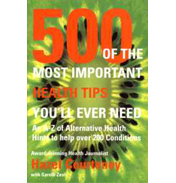 500 of the Most Important Health Tips