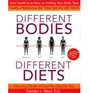 Different Bodies Different Diets