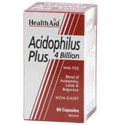 Health Aid Acidophilus Plus 4 Billion 60 Vegicaps