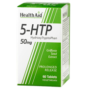 HealthAid 5HTP 50mg 60 Tablets