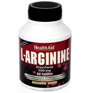 Health Aid L-Arginine 500mg 60 tablets