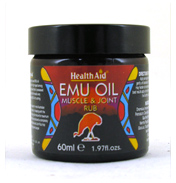Health Aid Emu Muscle &#38; Joint Rub Cream 60ml