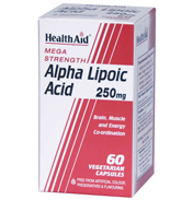 Mega Strength Alpha Lipoic Acid 250mg