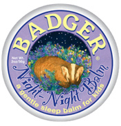 Badger Balm Night Night Sleep Tight 0.75oz Tin