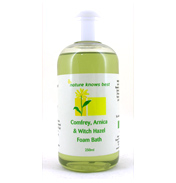 Comfrey, Arnica & Witch Hazel Foam Bath