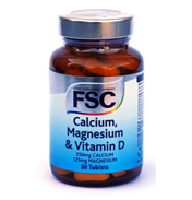 FSC Calcium, Magnesium & Vitamin D 60 Tablets