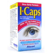 ICAPS Eye Vitamins 30 Tablets New One-A-Day…
