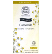 Heath & Heather Organic Chamomile 20 Bags