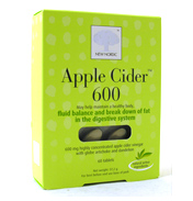 New Nordic Apple Cider 600 60 tablets