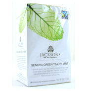 Jacksons Sencha Green Tea & Mint 20 Tea Bags