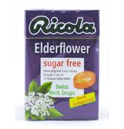 Ricola Elderflowers Swiss Herb Drops Sugar free…