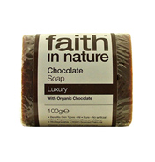 Faith in Nature Chocolate Soap 100g