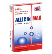 AllicinMAX 180mg 30 Vegetarian Capsules