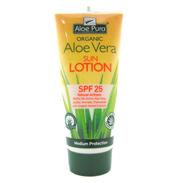 Aloe Pura Organic Aloe Vera Sun Lotion SPF 25 (1x…