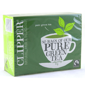 Clipper Pure Green Tea 80 Bags