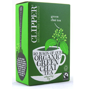 Clipper Organic Green Chai Tea 20 Bags