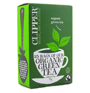 Organic Green Tea Bags by Clipper Tea