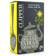 Clipper Organic Indian Chai 20 Bags