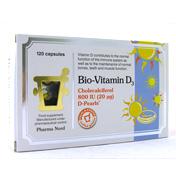 Pharma Nord D-Pearls Vitamin D3 120 Capsules