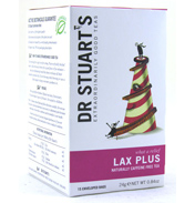 Dr Stuarts Lax Plus Herbal Tea Bags (15 Pack)