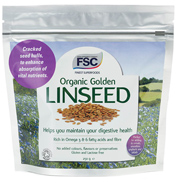 Finest Superfoods Organic Golden Linseed