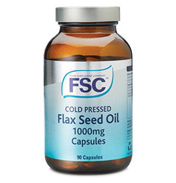 Cold Pressed Flaxseed Oil 1000mg Capsules