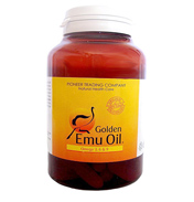 Golden EMU Oil Capsules