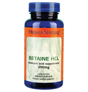 Higher Nature Betaine HCL 90 vegetarian capsules