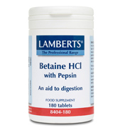 Betaine HCI 324mg/Pepsin 5mg