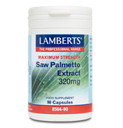 Lamberts Saw Palmetto Extract 320mg 90 Capsules