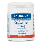 Vitamin B6 50mg (Pyridoxine)