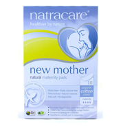 Natracare Natural Mother Maternity Pads 10 Pack