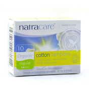 Natracare Organic Non-Applicator Tampons Super 10…