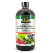 L-Carnitine Raspberry Ketones & Green Coffee Bean