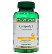 Nature's Bounty Complete B Vitamin Complex 100…