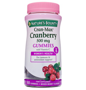 Nature's Bounty Cran-Max Cranberry 500mg with…