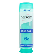 Nelsons Rhus tox 6C