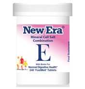 New Era Mineral Cell Salt Combination E