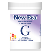 New Era Mineral Cell Salt Combination G