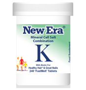 New Era Mineral Cell Salt Combination K
