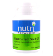 Nutri Blackcurrant Seed Oil 60 Capsules
