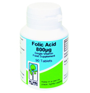 Folic Acid 800ug