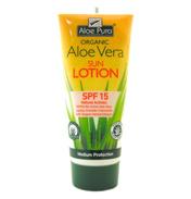 Aloe Pura Organic Aloe Vera Sun Lotion SPF 15 (1x…