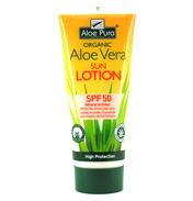 Aloe Pura Organic Aloe Vera Sun Lotion 200ml- SPF…