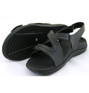 Orthaheel Adjust Sandals Black UK Size 4