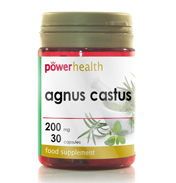Power Health Agnus Castus 200mg 30 Capsules
