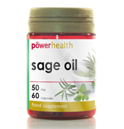 Power Health Essential Oil of Sage 50mg 60…